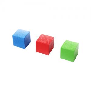 Testobjekte für die Farbsensoren