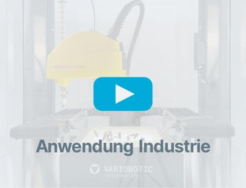 Vereinzelungslösung mit VarioShaker 270 und Industrieroboter FANUC SR-3iA